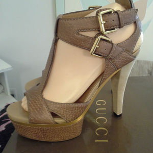 594b2ff02d4 Women s Gucci Ankle Strap Sandals on Poshmark